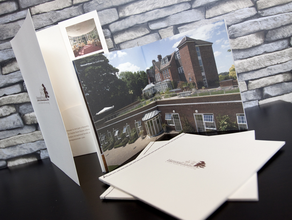Harwood House Stitched Brochure